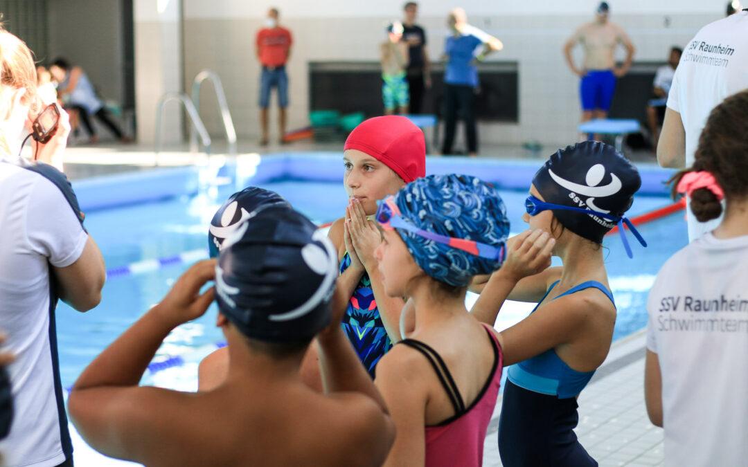 Vereinsschwimmfest am 4. September 2021