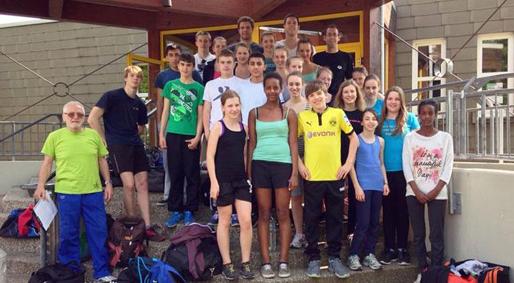Trainingslager Karlsruhe 2014