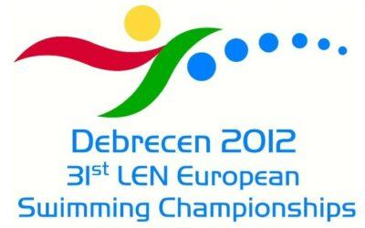 Schwimm EM 2012 in Debrecen